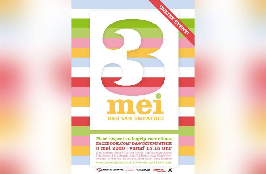 3 MEI: Dag van Empathie 2020 (ONLINE EVENT)