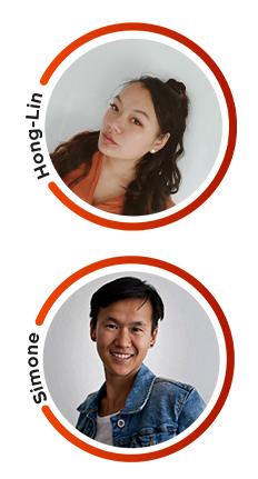 Hong-Lin Stoffels en Simone Sommers van Adoptiepedia