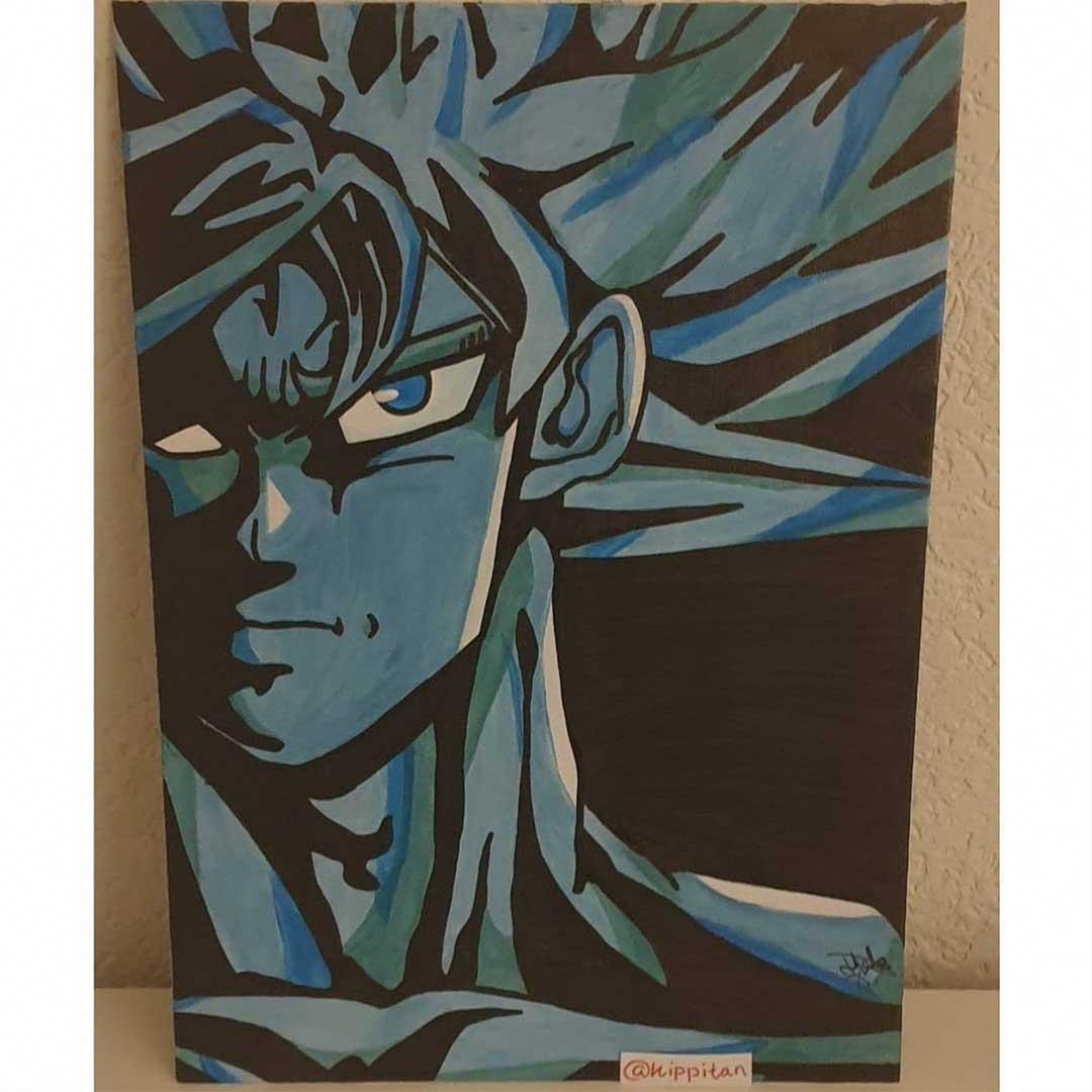 Kippitan illustratie Goku