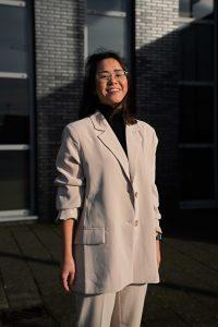 Amy gefotografeerd door Rui Jun Luong.